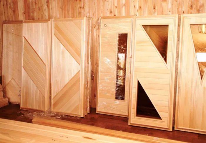 Двери для бани и сауны, цены - купить в интернет-магазине